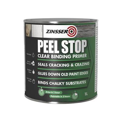 Zinsser Peel Stop® Clear Binding Primer Paint 1 litre