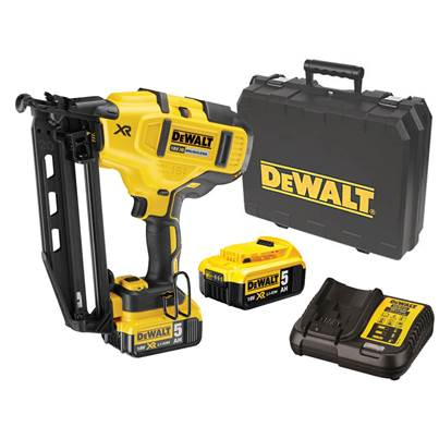 DEWALT DCN660P2 18V 2ND FIX NAILER (Reconditioned)