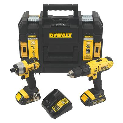 DEWALT DCZ298S2T 18V TWIN PACK (Reconditioned)